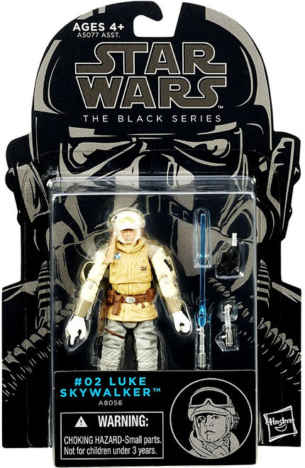 Star Wars The Empire Strikes Back Black Series Wave 6 Luke Skywalker Action Figure #02 [Wampa Attack]