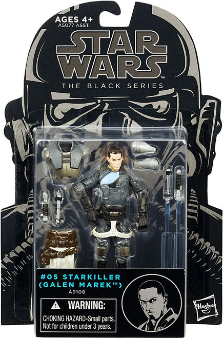 Star Wars Force Unleashed Black Series Wave 6 Starkiller Action Figure #05 [Galen Marek]