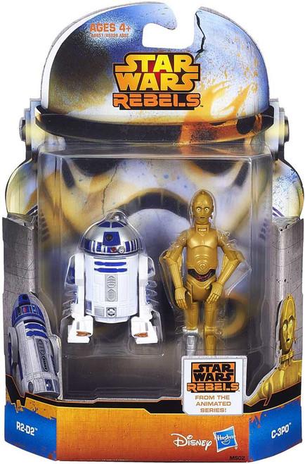 Star Wars Rebels Mission Series C-3PO & R2-D2 Action Figure 2-Pack MS02