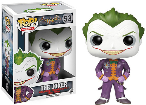 Funko Batman Arkham Asylum POP! Heroes The Joker Vinyl Figure #53 [Arkham Asylum]
