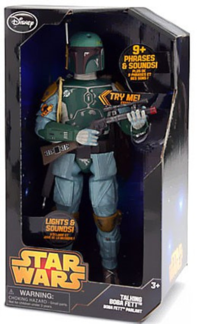 Disney Star Wars The Empire Strikes Back Boba Fett Exclusive Talking Action Figure [2014]