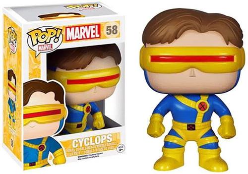 Funko POP! Marvel Cyclops Vinyl Bobble Head #58
