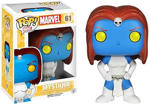 Funko POP! Marvel Mystique Vinyl Bobble Head #61