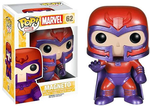 Funko POP! Marvel Magneto Vinyl Bobble Head #62