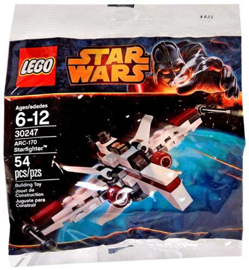 LEGO Star Wars Expanded Universe ARC-170 Starfighter Set #30247