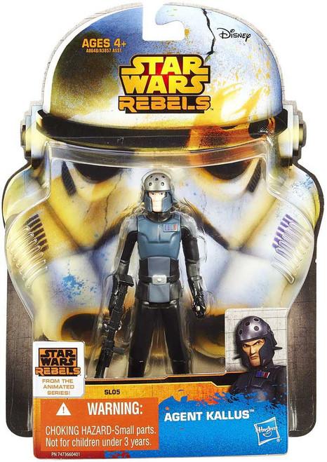 Star Wars Rebels Saga Legends 2014 Agent Kallus Action Figure SL05