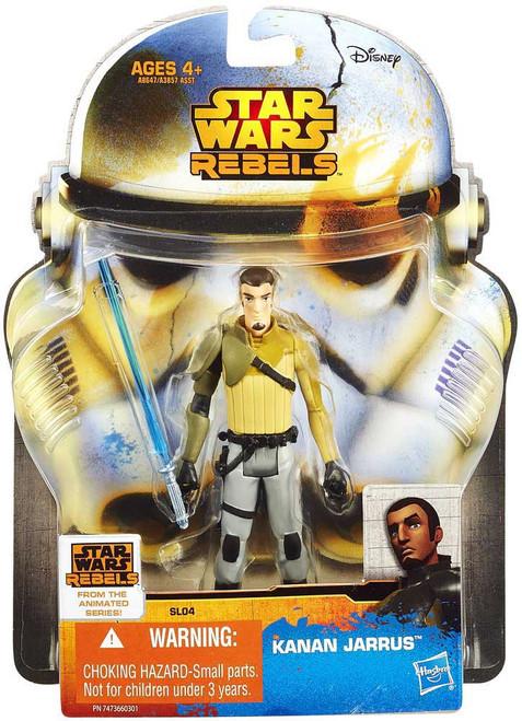 Star Wars Rebels Saga Legends 2014 Kanan Jarrus Action Figure SL04