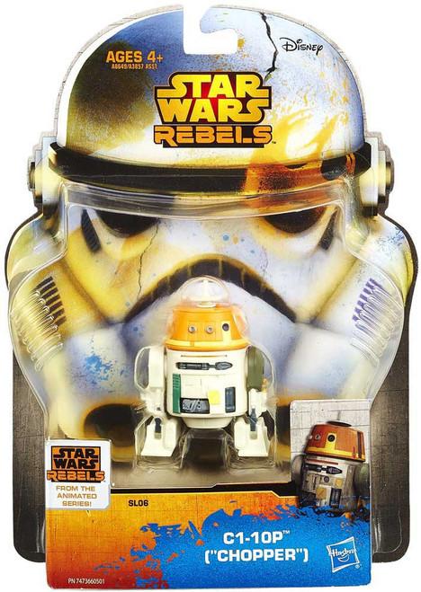 Star Wars Rebels Saga Legends 2014 C1-10P Action Figure SL06 [Chopper]