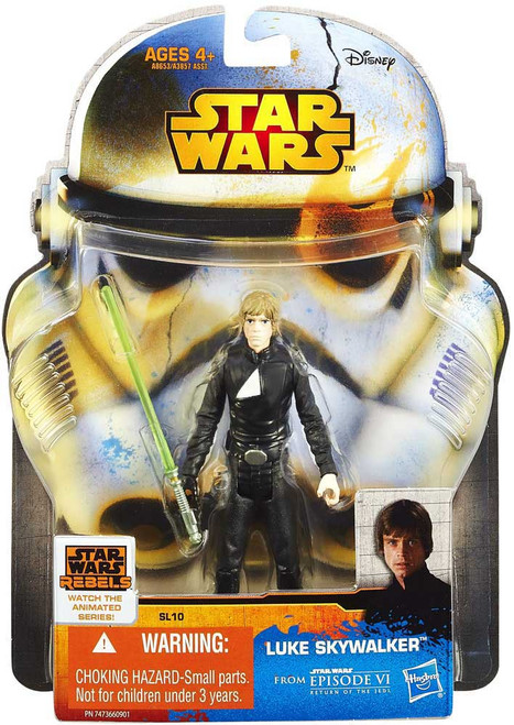 Star Wars Return of the Jedi Saga Legends 2014 Luke Skywalker Action Figure SL10