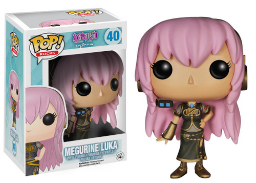 Funko Vocaloid POP! Rocks Megurine Luka Vinyl Figure #40