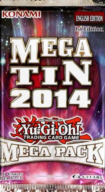 YuGiOh Trading Card Game 2014 Mega Tin Mega Booster Pack