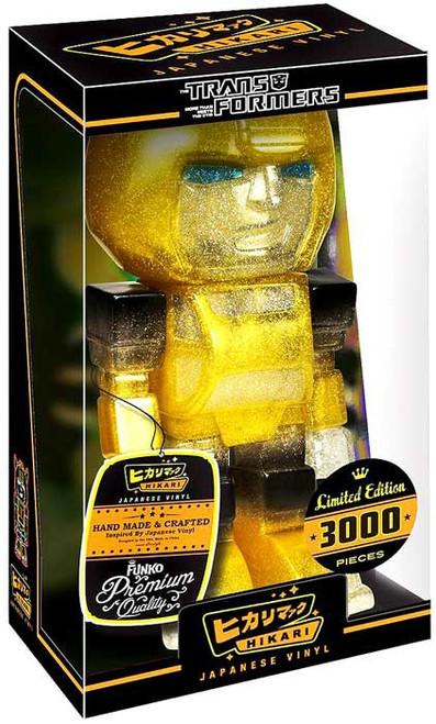 "Funko Transformers Hikari Japanese Vinyl Bumblebee 7-Inch 7"" Vinyl Figure [Translucent Glitter]"