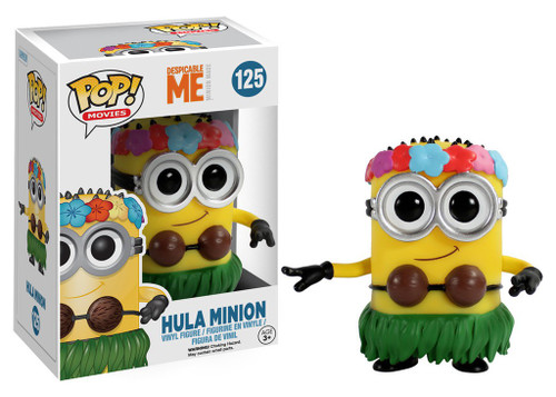 Funko Despicable Me 2 POP! Movies Hula Minion Vinyl Figure #125