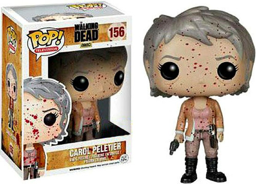 Funko The Walking Dead POP! TV Carol Peletier Exclusive Vinyl Figure #156 [Bloody]