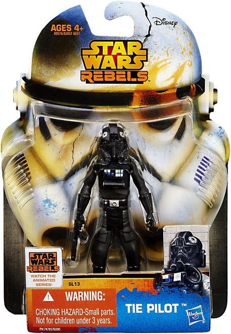 Star Wars Rebels 2015 Saga Legends TIE Fighter Pilot Action Figure SL13