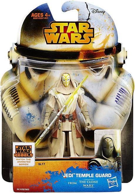 Star Wars The Clone Wars 2015 Saga Legends Jedi Temple Guard Action Figure SL17