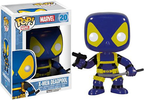 Funko POP! Marvel X-Men Deadpool Vinyl Bobble Head #20 [Blue & Yellow]