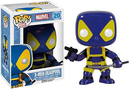 Funko POP! Marvel X-Men Deadpool Vinyl Bobble Head #20 [Blue & Yellow]