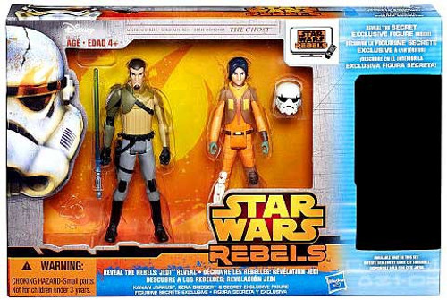 Star Wars Mission Series Reveal the Rebels: Jedi Reveal Exclusive Action Figure 3-Pack