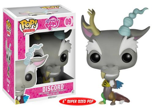 Funko POP! My Little Pony Discord 6-Inch Vinyl Figure #09 [Super-Sized]
