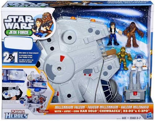 Star Wars Jedi Force Millennium Falcon Exclusive