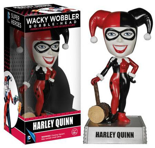 Funko DC Universe Wacky Wobbler Harley Quinn Bobble Head