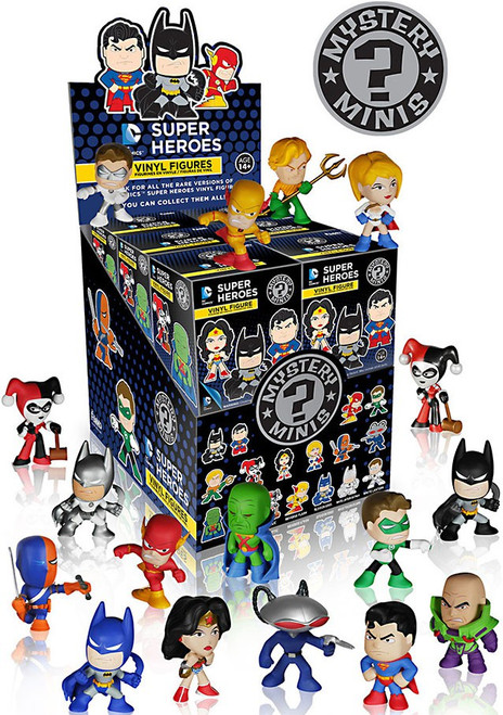 Funko Mystery Minis DC Super Heroes Mystery Box [12 Packs]