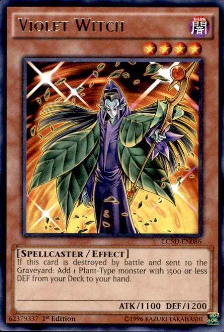 YuGiOh 5D's Legendary Collection Mega Pack Rare Violet Witch LC5D-EN086