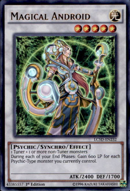 YuGiOh YuGiOh 5D's Legendary Collection Mega Pack Ultra Rare Magical Android LC5D-EN232