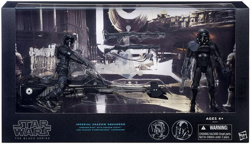 Star Wars Black Series Imperial Shadow Squadron Exclusive Action Figure 2-Pack