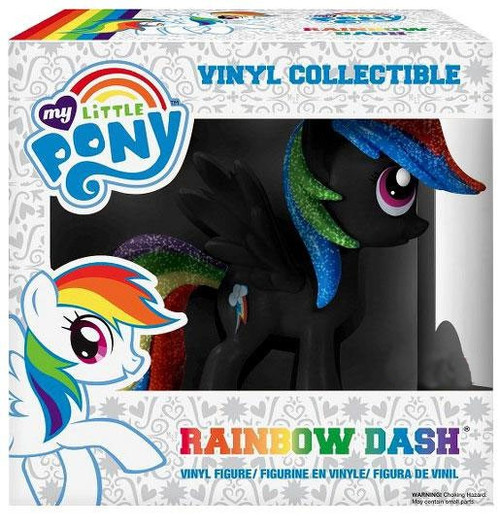 Funko My Little Pony Rainbow Dash Exclusive Vinyl Figure [Black Glitter]