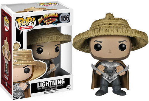 Funko Big Trouble in Little China POP! Movies Lightning Vinyl Figure #156