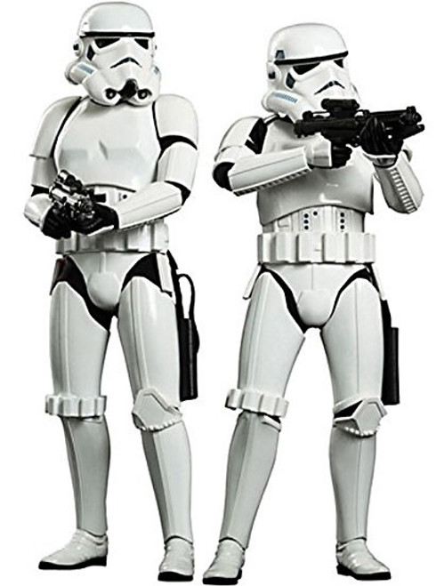 Star Wars A New Hope Movie Masterpiece Stormtroopers 2-Pack Exclusive