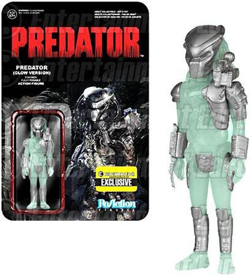 Funko ReAction Predator Action Figure [Glow Version]