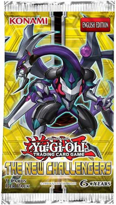 YuGiOh Trading Card Game The New Challengers Booster Pack