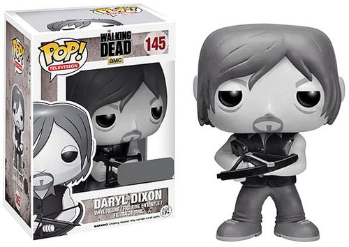 Funko The Walking Dead POP! TV Daryl Dixon Exclusive Vinyl Figure #145 [Black & White]