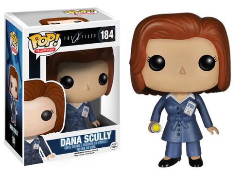 Funko X-Files TV Series POP! TV Dana Scully Vinyl Figure #184