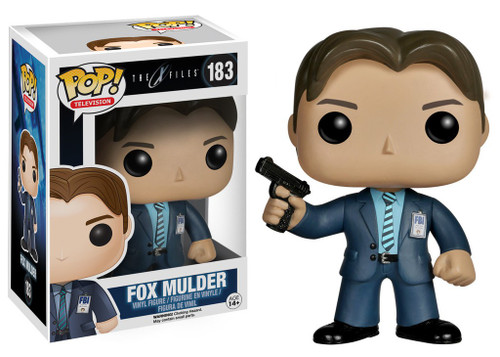 Funko X-Files TV Series POP! TV Fox Mulder Vinyl Figure #183