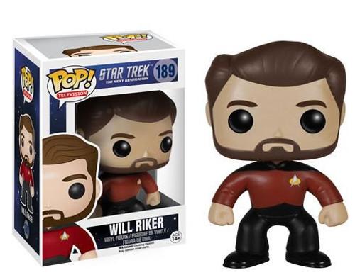 Funko Star Trek: The Next Generation POP! TV Will Riker Vinyl Figure #189