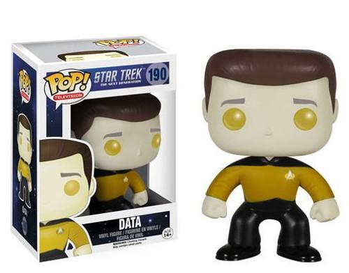 Funko Star Trek: The Next Generation POP! TV Data Vinyl Figure #190
