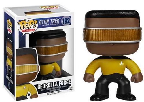 Funko Star Trek: The Next Generation POP! TV Geordi La Forge Vinyl Figure #192
