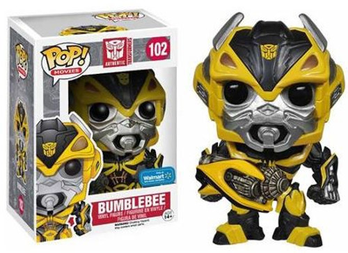 Funko Transformers Age of Extinction POP! Movies Bumblebee Exclusive Vinyl Figure #102 [Exclusive]