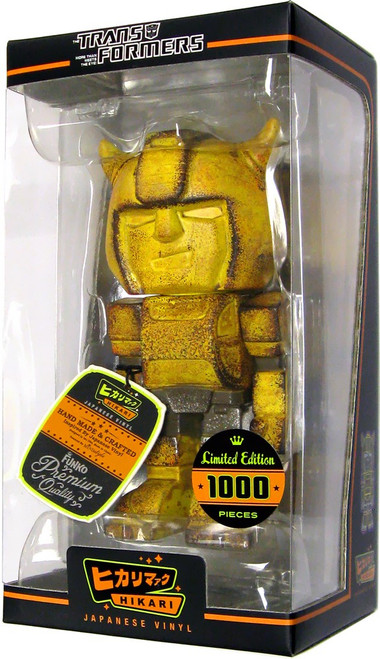 "Funko Transformers Hikari Japanese Vinyl Bumblebee Exclusive 7-Inch 7"" Vinyl Figure [Battle Ready]"