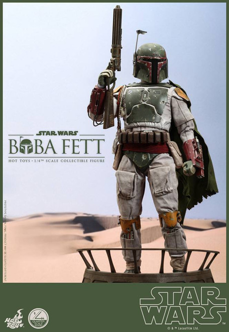 Star Wars Return of the Jedi Movie Masterpiece Boba Fett Collectible Figure