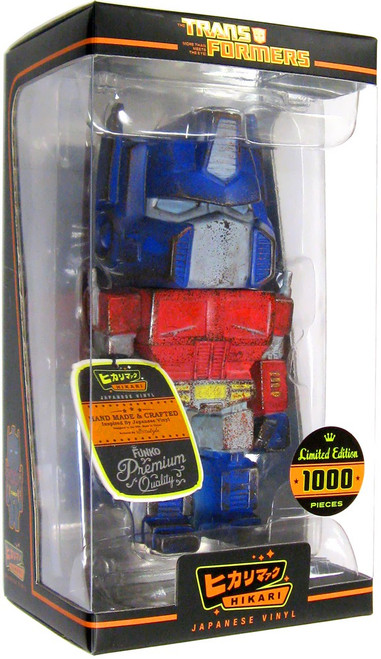 "Funko Transformers Hikari Japanese Vinyl Optimus Prime 7-Inch 7"" Vinyl Figure [Battle Ready]"