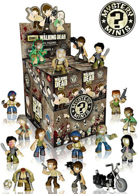 Funko The Walking Dead Mystery Minis Walking Dead Series 3 Mystery Box [12 Packs]
