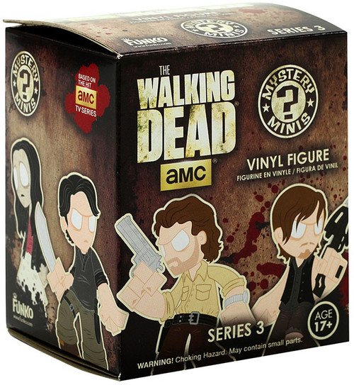 Funko The Walking Dead Mystery Minis Walking Dead Series 3 Mystery Pack [1 RANDOM Figure]
