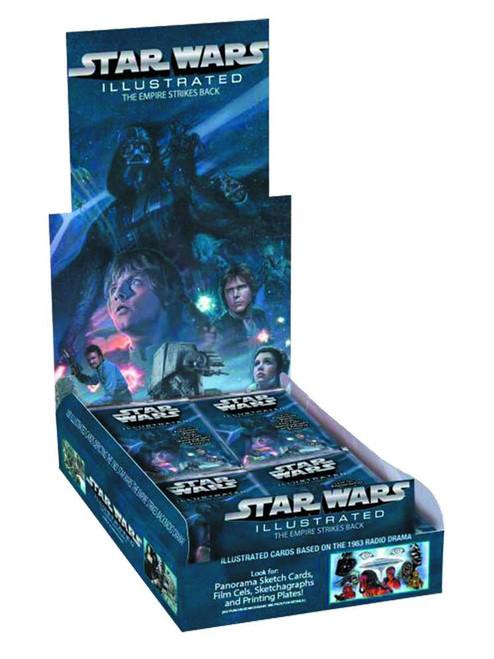 Star Wars Empire Strikes Back 2015 Illustrated Empire Trading Card HOBBY Box [24 Packs]