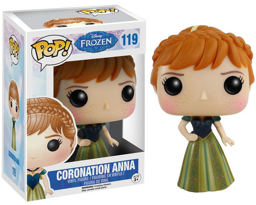Funko Disney Frozen POP! Movies Coronation Anna Vinyl Figure #119