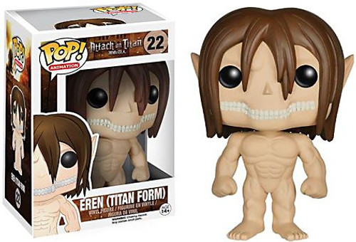 Funko Attack on Titan POP! Animation Eren Jaeger Vinyl Figure #22 [Titan Form]